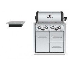 Broil King Gasbarbecue | Imperial 490 Inox build in met kast